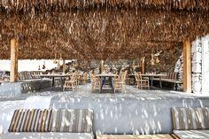 Restaurant Alemagou, Mykonos Island, Greece,... Increíble