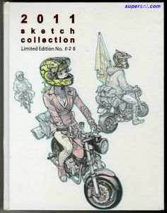 2011 sketch collection Limited Edition No.025 — by Kim Jung Gi