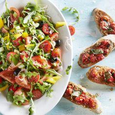 Jan Linders - Bonte tomatensalade (voorgerecht voor 4 personen)