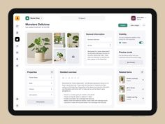 Product Page, New Product, Product Design, Ui Ux Design, Page Design, Graphic Design, Plant Monster, Dashboard Ui, Ecommerce Website Design