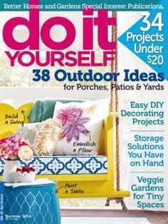 Do It Yourself - magazine available through KCKPL Zinio digital magazine account.
