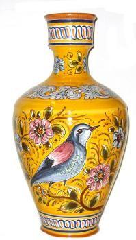 Decorative Spain Majolica Vase