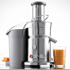 the best juicer  Breville Ikon Die-Cast Juice Fountain Elite Juice Extractor | Bloomingdale's