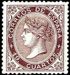 REINADO DE ISABEL II - AÑO 1868. Isabel II.