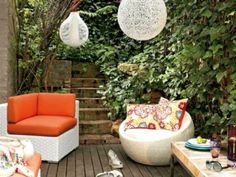Give your backyard a summer makeover! We love these gorgeous outdoor spaces for summer: http://www.ivillage.com/patio-porch-and-deck-designs/7-a-535936