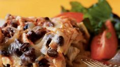 Mexican food is notoriously heavy. Melted cheese, refried beans, and tortilla chips aren't exactly low in calories.