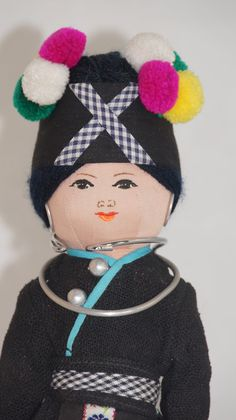 Adorable Thai Siam Girl Doll from the 1970s by UniqueWorldDolls, $24.95