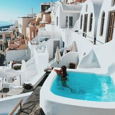 70 New ideas travel destinations greece santorini wanderlust Oh The Places You'll Go, Places To Travel, Travel Destinations, Destination Voyage, Travel Goals, Freedom Travel, Greece Travel, Luxury Travel, Beach Travel