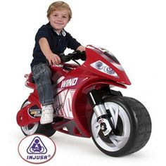 Injusa Ride on Kids Electric Wind Motorbike - 6v   maisies toys