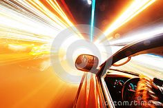 Traveling at speed of light by Digidreamgrafix, via Dreamstime