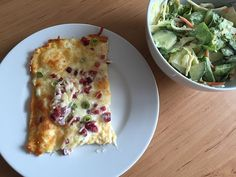 Low Carb Rezepte: Low Carb Keto Flammkuchen ca. 6 g Kohlenhydrate (ohne Mehl…