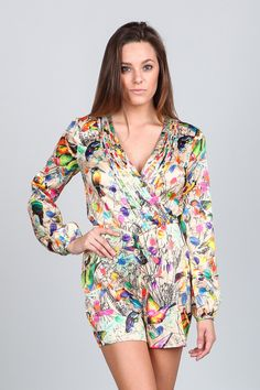 COLORFUL SPRING ROMPER from Mokka
