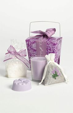 Sonoma Lavender 'French Stamp' Take-Out Box available at Nordstrom- Thinking of my DDIL :-)