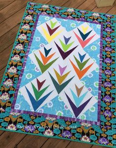 foundation pieced blocks using shot cottons and Kaffe Fassett fabrics. Paper Piecing Patterns, Quilt Patterns, Palm Sunday, Foundation Piecing, Fabric Patch, Lights Background, Patches, Diy Crafts, Quilts