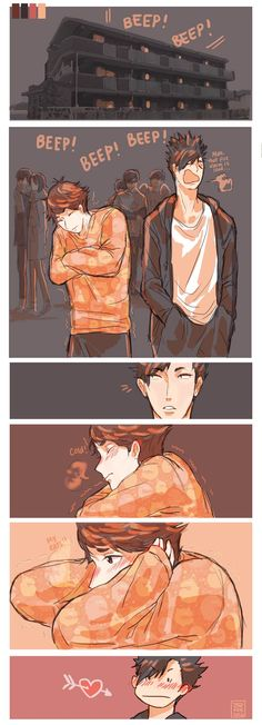 Kuroo & Oikawa (。•̀ᴗ-)✧ ;; don't ship this but they look cute ig idk cough kuroken and iwaoi look cuter tho cough cough