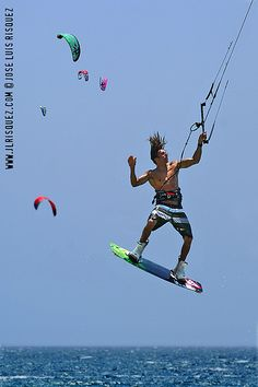 José Luis Rísquez. Kite Surf Tarifa