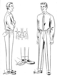 The Rundschau System for Trousers via Cutter and Tailor forum