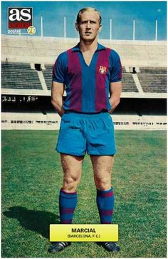 Marcial of Barcelona in 1967.