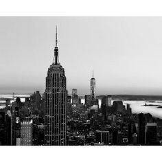 Black and White New York Photography, Manhattan Skyline, Men, NYC Art,... (€12) ❤ liked on Polyvore featuring men's fashion and pictures
