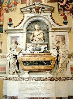 Tomb of Galileo - Florence december '88 rondreis door Italië: Venetië - Rome - Florence