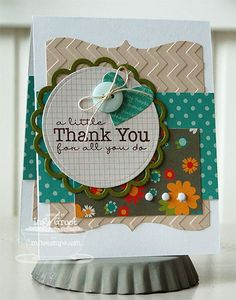 Gift Card Greetings II, Bracket Edge Duo Die-namics - Inge Groot