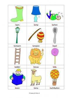 Werkbladen - taal - letters leren ~ Juf Milou Abc For Kids, Letter L, School Posters, Learning Letters, Letters And Numbers, Primary School, Afrikaans, Homework, Study
