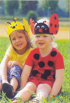 Crafts,Actvities and Worksheets for Preschool,Toddler and Kindergarten. Headband Crafts, Hat Crafts, Craft Activities, Preschool Crafts, Toddler Crafts, Crafts For Kids, Ben Y Holly, Insect Crafts, Ladybug Crafts
