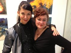 images of the opening reception July 12th 2013 at janinebeangallery