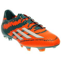 adidas Mens Messi 10.1 FG Firm Ground Soccer Cleat 10 1/2 US, Power Teal/White/Orange - Brought to you by Avarsha.com