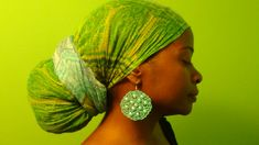 Natural Hair Protective Style Head Wraps 1