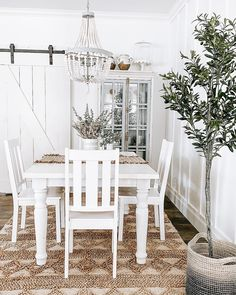 Designed by @theangabode Farmhouse Interior, Modern Farmhouse Style, Aztec Decor, Dining Room Inspiration, Dining Chairs, Dining Rooms, Dining Room Design, Luxurious Bedrooms, Sweet Home
