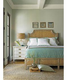 Stanley Furniture » Beds » Coastal Living ResortWater Meadow Woven Bed 5/0 Queen