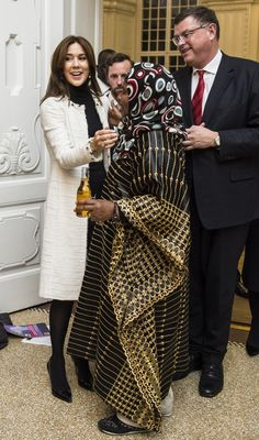 Princess Mary hosts a dinner in connection with the International Conference on female circumcision organized by the United Nations Population Fund (UNFPA), the charity Orchid Project, United Nations Children's Fund (UNICEF) and the Association Against Female Circumcision. Frederik VIII's Palace, Amalienborg. 11 November 2014