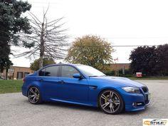Matte Metallic Blue BMW 3 Series