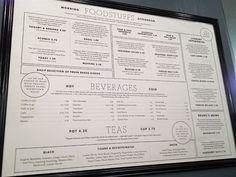 McNally Jackson Café menu