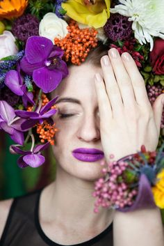 I put a spell on all the stones on the roads and they all turned into beautiful flowers. They will blossom and tell the story of my life as they live on. Story Of My Life, Headpiece, Beautiful Flowers, Crushes, Fashion, Moda, Headdress, Fashion Styles, Fashion Illustrations
