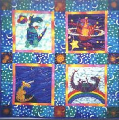 Dragon Magic - dragons created by my daughter, Theresa Ann Clark. She loved creating clay sculptures of these as a kid. email for info. Applique Quilt Patterns, Art Quilting, Clay Sculptures, Fibre Art, Dragons, Love Her, Ann, Daughter, Magic