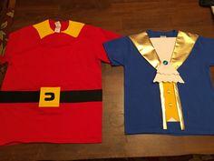 Gaston & Beast costume t-shirt