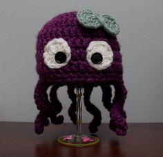 so cute octopus crochet hat