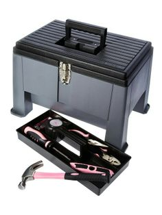 Handy little Stepping Stool which is also a Toolbox.