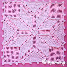 Crochet - (My Picot) Diagramed Stitch Patterns Filet Crochet, Crochet Motifs, Crochet Stitches Patterns, Crochet Chart, Crochet Squares, Thread Crochet, Crochet Designs, Crochet Doilies, Crochet Pillow Cases