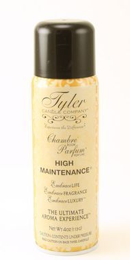 4oz Tyler Candle Chambre Room Parfum - High Maintenance