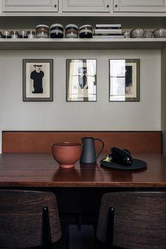 Kitchen in earthy tones - via Coco Lapine Design blog