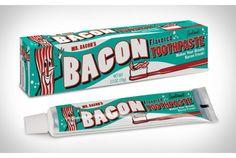 Bacon Toothpaste.      子供のころ、におい付き消しゴムがあまりにも美味しそうなにおいがして、思わずかじってみたという方、いらっしゃいますか。そんな方は絶...