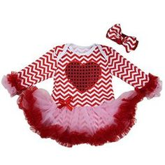 Check out these Adorable Valentine's Day Outfits for Baby Girls! #babies #valentinesday #valentine