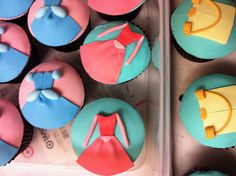 princess cupcakes :)