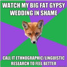 F Yeah Anthropology Major Fox.