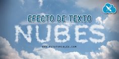 Texto de nubes Photoshop Tutorial | PS Tutoriales