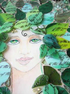 Mixed Media Mosaic...Beautiful!