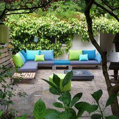 Lounge set, terrasmeubel, Sittingimage tuin